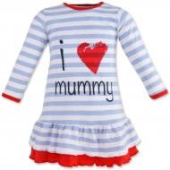 """Трикотажное платье для малышки """"I Love Mummy"""""""
