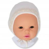 """Чепчик для новорожденного """"Кружева"""""""