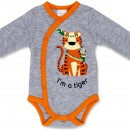 """Боди для новорожденного """"I'm a Tiger"""" длинный рукав"""