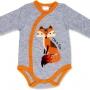 """Боди для новорожденного """"I'm a Fox"""" длинный рукав"""