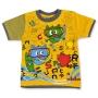 """Детская футболка """"Кошачий серфинг"""" для мальчика"""