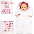 "Утепленный одеяло конверт ""Mommy's Girl"""