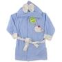"Детский махровый халат с ушками, полотенце ""Small whale"""