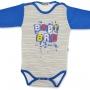 """Боди для новорожденного """"BABY BRO"""" длинный рукав"""