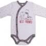 """Боди для новорожденного """"Best Friends"""" длинный рукав"""