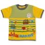 """Детская футболка """"Морской патруль"""" для мальчика (желтая)"""
