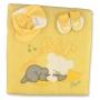 """Одеяло конверт, картузик и пинетки """"Сладкие сны"""""""